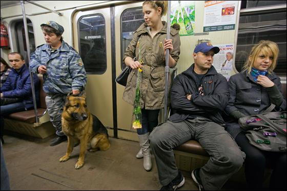 Московское метро 06 04 2010